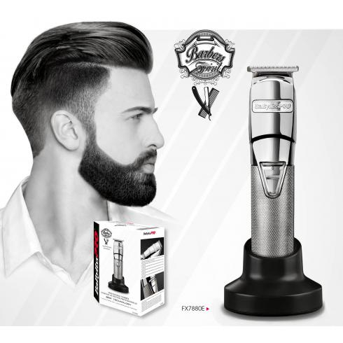 BABYLISS TONDEUSE FINITION BARBER FX7880 + 2 TETES**