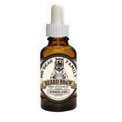 MR BEAR HUILE DE BARBE 30ml