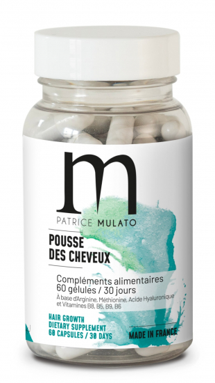 MULATO COMPLEMENT ALIMENTAIRE POUSSE DES CHEVEUX x60