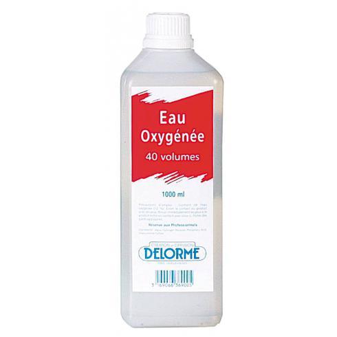 EAU OXYGENEE 40 VOLUMES LITRE