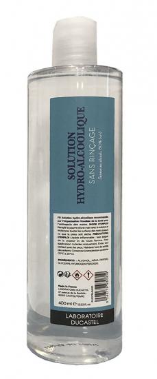 SOLUTION HYDRO ALCOOLIQUE 400 ml
