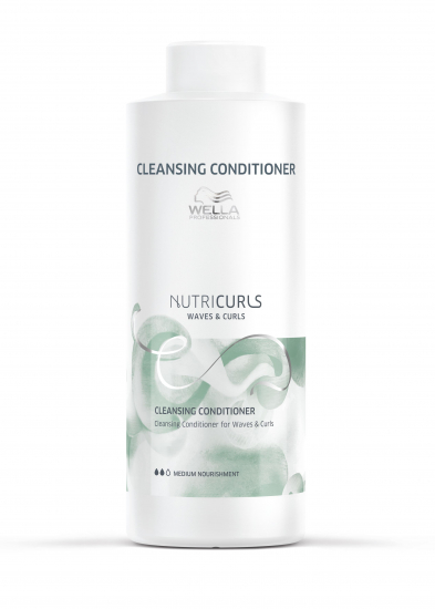 WELLA NUTRICURLS CLEANSING CONDITIONER Litre