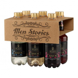 MEN STORIES PACK SHAMPOING x 6