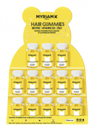 MYRIAM K PRESENTOIR 15 BOITES HAIR GUMMIES x60
