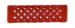 ROULEAU VELOURS LONG ROUGE D.18 x12