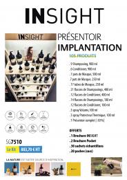 INSIGHT PRESENTOIR IMPLANTATION 105 PRODUITS