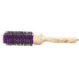 BROSSE CAGE METAL MANCHE BOIS 54 mm