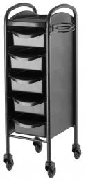 TABLE EFALOCK CLICTEC 6002 5 TIROIRS BLACK EDITION