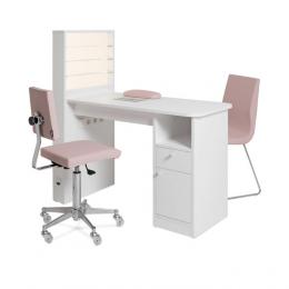 TABLE MANUCURE PAHI MANTIS + LED (ASPIRATEUR  en option)