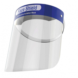 VISIERE PROTECTION ANTI PROJECTION REUTILISABLE